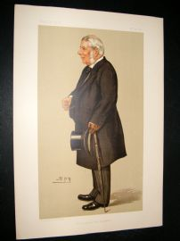 Vanity Fair Print 1895 Baron Macnaughton, Legal